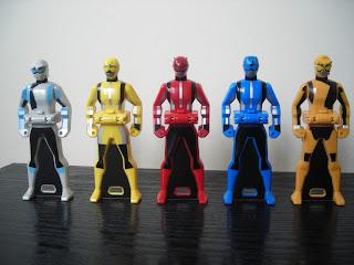 Go-Busters Ranger Keys Bandai Super Sentai