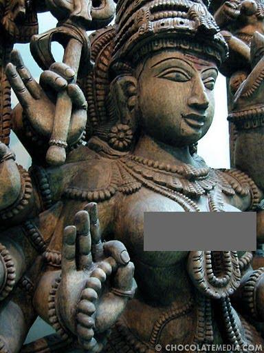 Hindu sun god's amazing resemblance to Y. Arafat