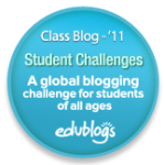 We are taking part in the Student Blogging Challenge!