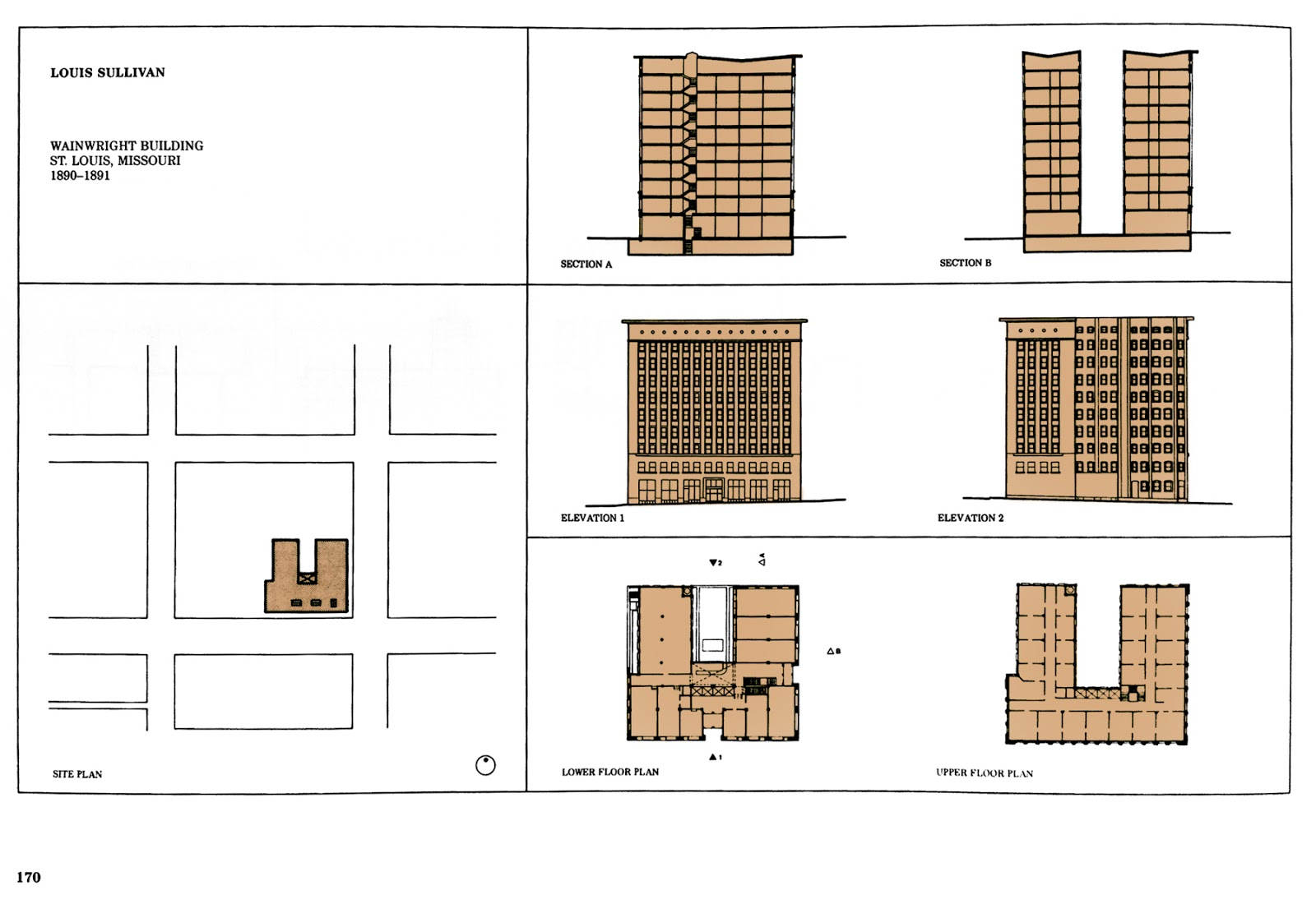Architectural ruminations march 2013 for Sullivan floor plan
