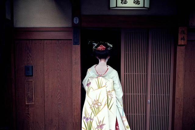 Maiko en Gion