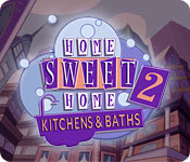 เกมส์ Home Sweet Home 2 - Kitchens and Baths