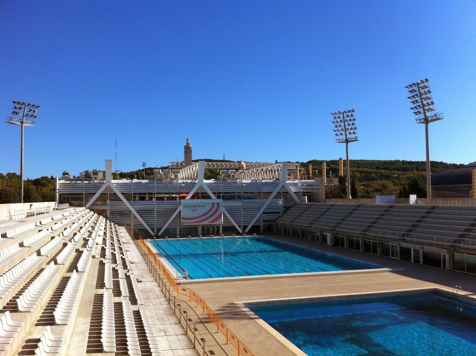 arquitectura y deporte piscinas picornell