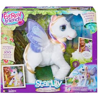 StarLily Magico Unicorno Hasbro Fur Real Friends prezzo giocattolo peluche interattivo