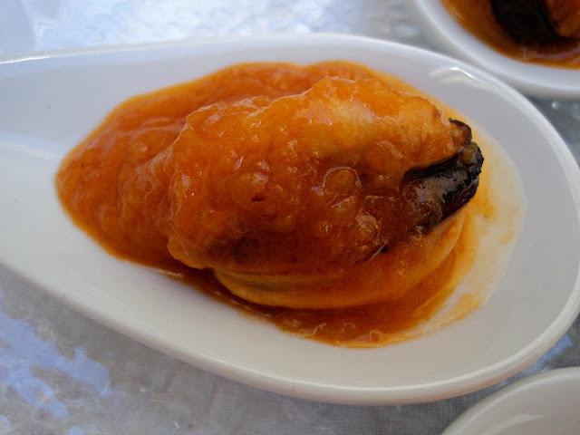 mejillones de aperitivo salsa vieira receta casera