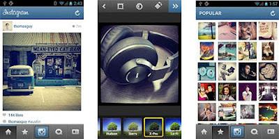 Instagram untuk Android kini sudah bisa didownload