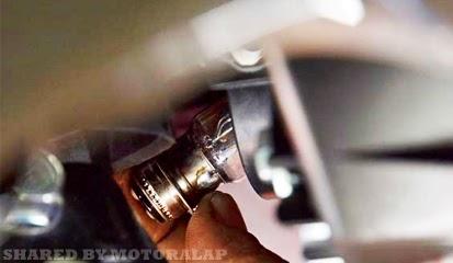 Tips dan Cara Atasi Bohlam Lampu Motor Sering Putus