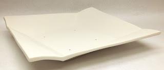 Origami Bowl Mold for slump.