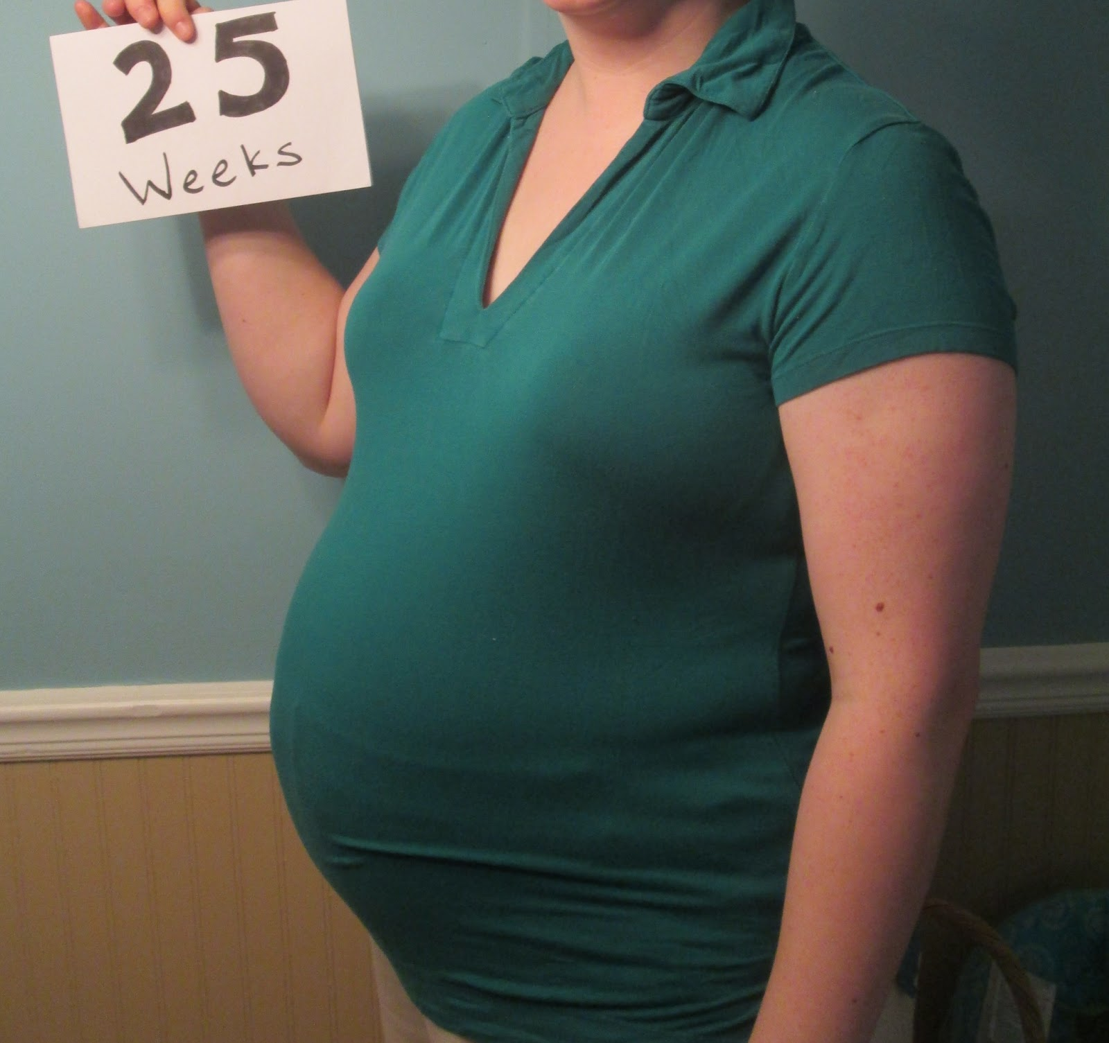 Domestic Randomness: Pregnancy Week 25 Update