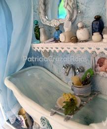 Detalle Bañito con Miniaturas