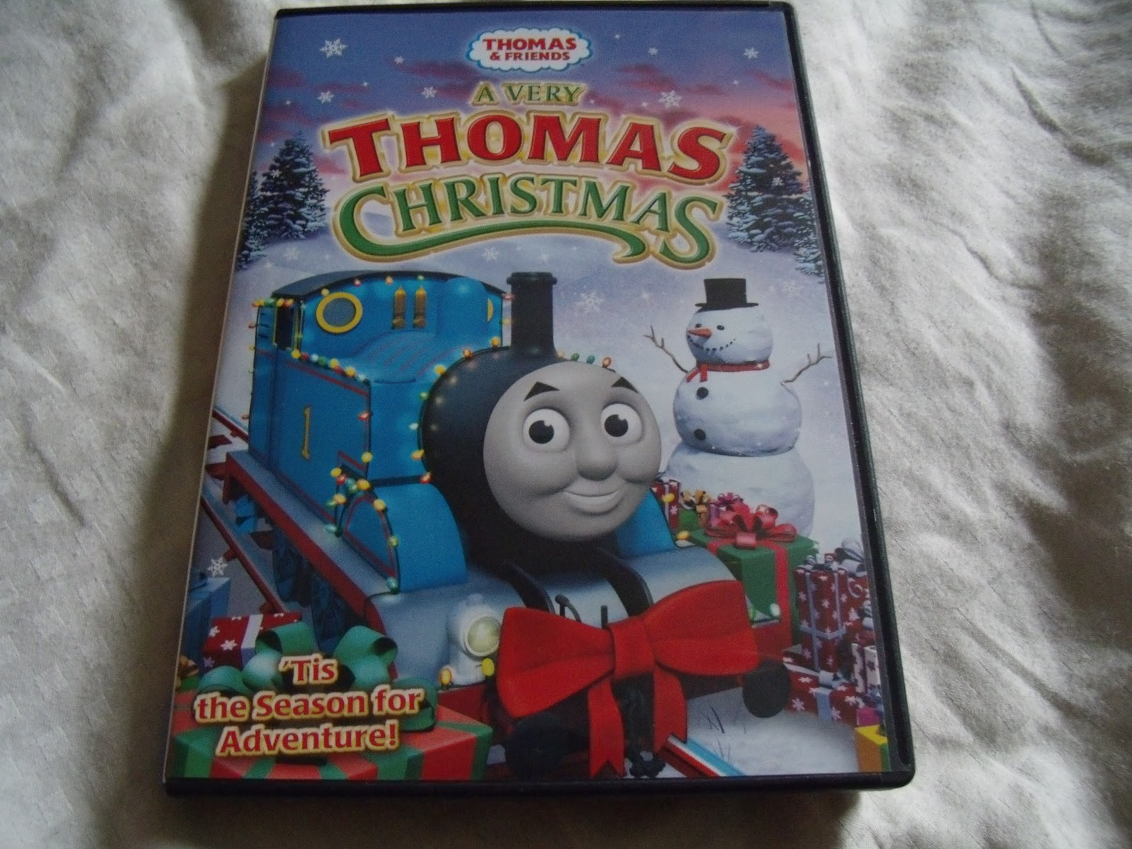 i wish i could have video taped my interview with dane as he explained what a very thomas christmas was about he explained to me that emily another