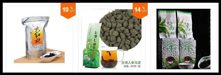 Chás e Ervas da China