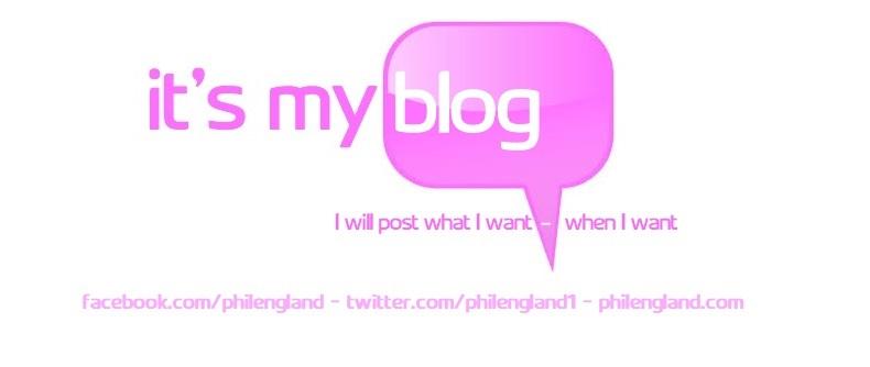 Phil England's Blog