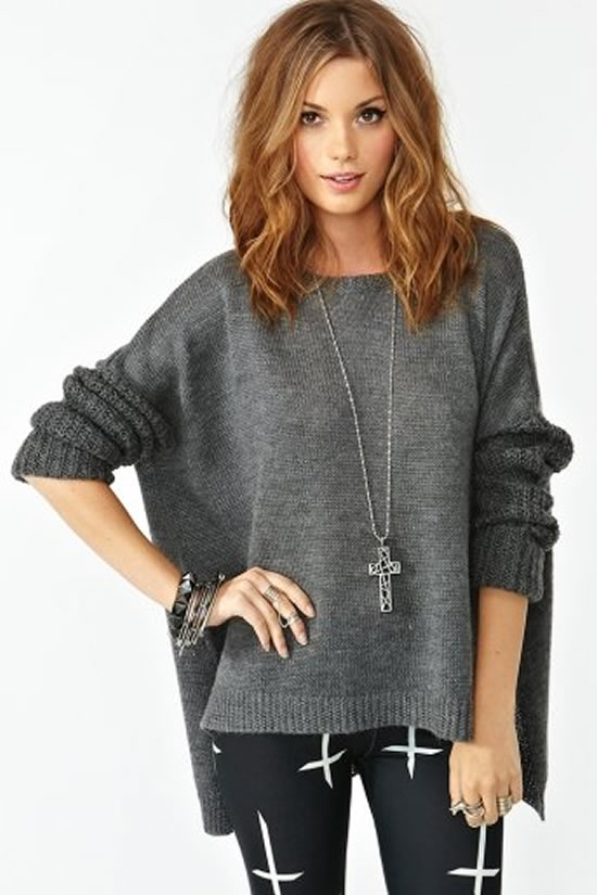 Nasty Gal Fuyu Knit Sweater