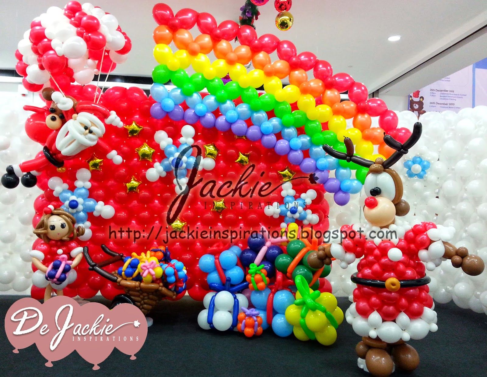 Balloon decorations for weddings birthday parties for Balloon decoration book