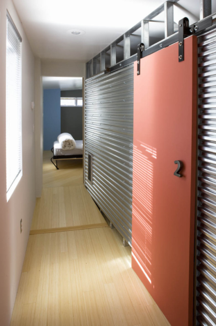 I Love This Look It Goes Great And Adds To Your Urban, Industrial,  Contemporary Home. Here Are Some Great Looks That Use Corrugated Metal In  The Home.