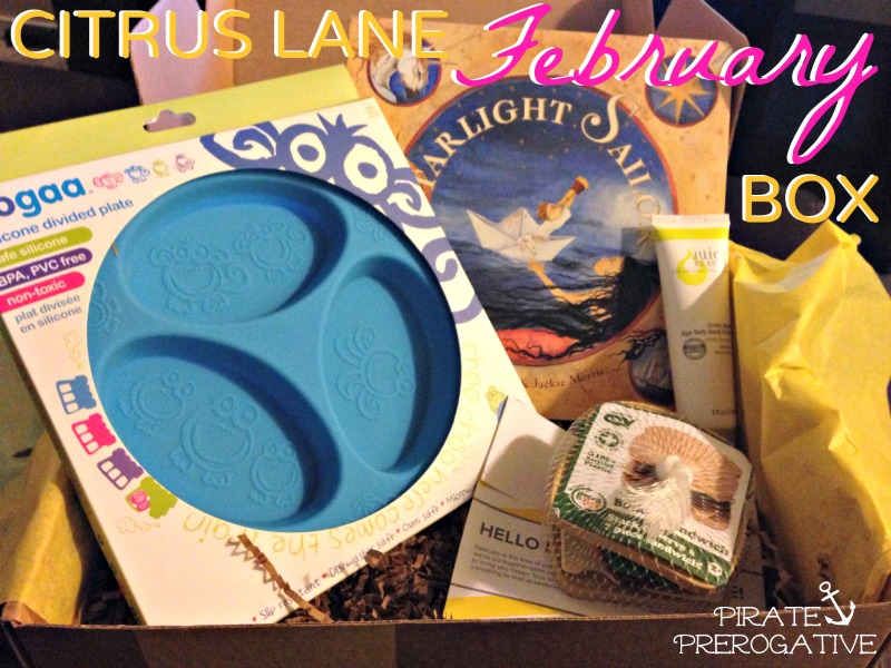 Citrus Lane February 2014 Box