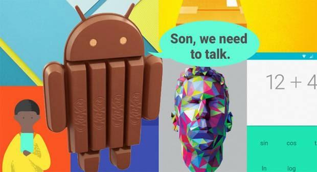 Perbandingan Android L Vs KitKat