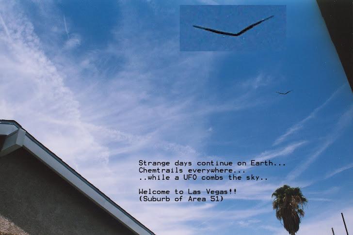UFO / Chemtrails - Las Vegas