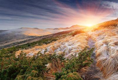 Amanecer en las montañas - Paisajes fascinantes