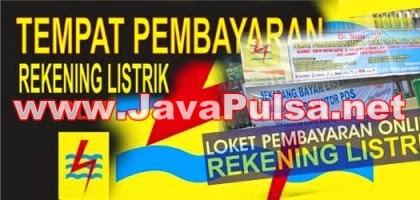 Loket PPOB Resmi Pembayaran Listrik PLN Postpaid Java Pulsa Online Termurah Terpercaya 2015