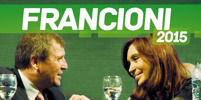 ESPACIO PUBLICITARIO: FRANCIONI 2015