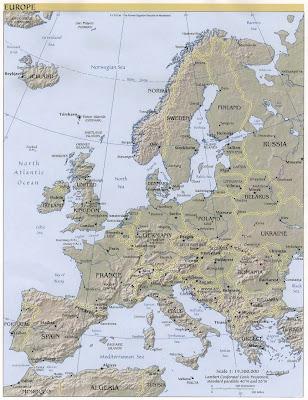 Western Europe Maps