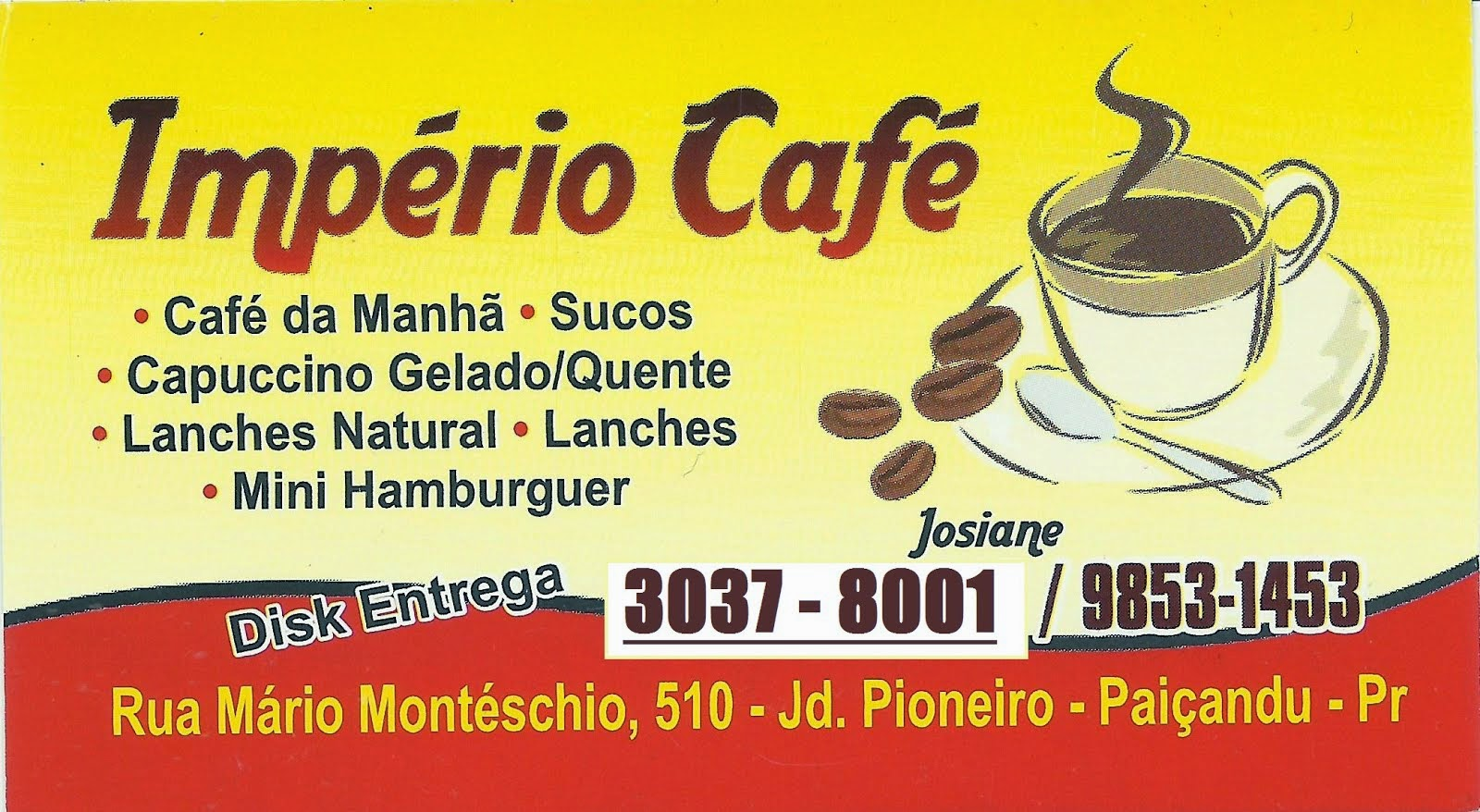 Império Café Jd Pioneiro