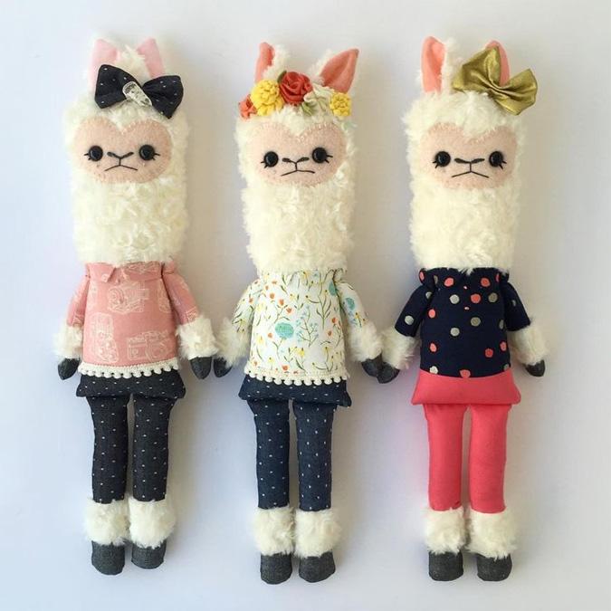 llama soft toys