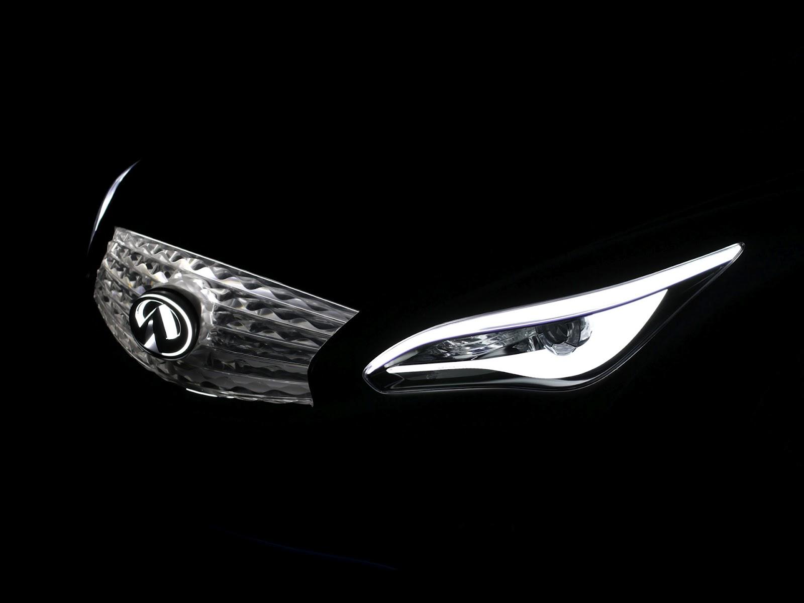 2012 infiniti le concept zero emission luxury sedan news hot car 2012 le concept gauges vanachro Image collections