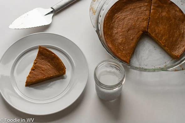 Pumpkin Mascarpone Pie with Mascarpone Cream