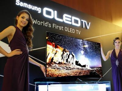 Samsung OLED TV, 55 inch