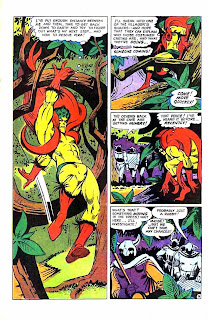 Beware the Creeper v1 #3 dc 1960s silver age comic book page art by Steve Ditko