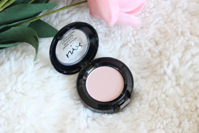Mon no makeup – makeup avec le «nude matte shadow» de Nyx