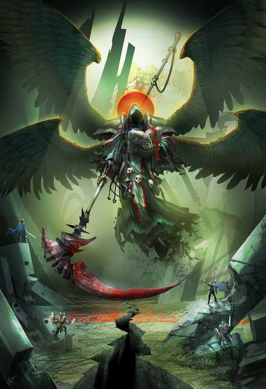 Angel of Death por dinmoney