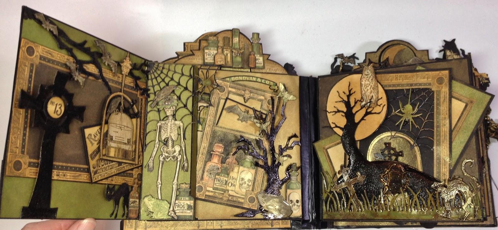 annes papercreations: graphic 45 rare oddities 6x6 page mini album