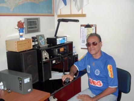 PY4ESH CLAUDIO - Em sua estação com o IC-718