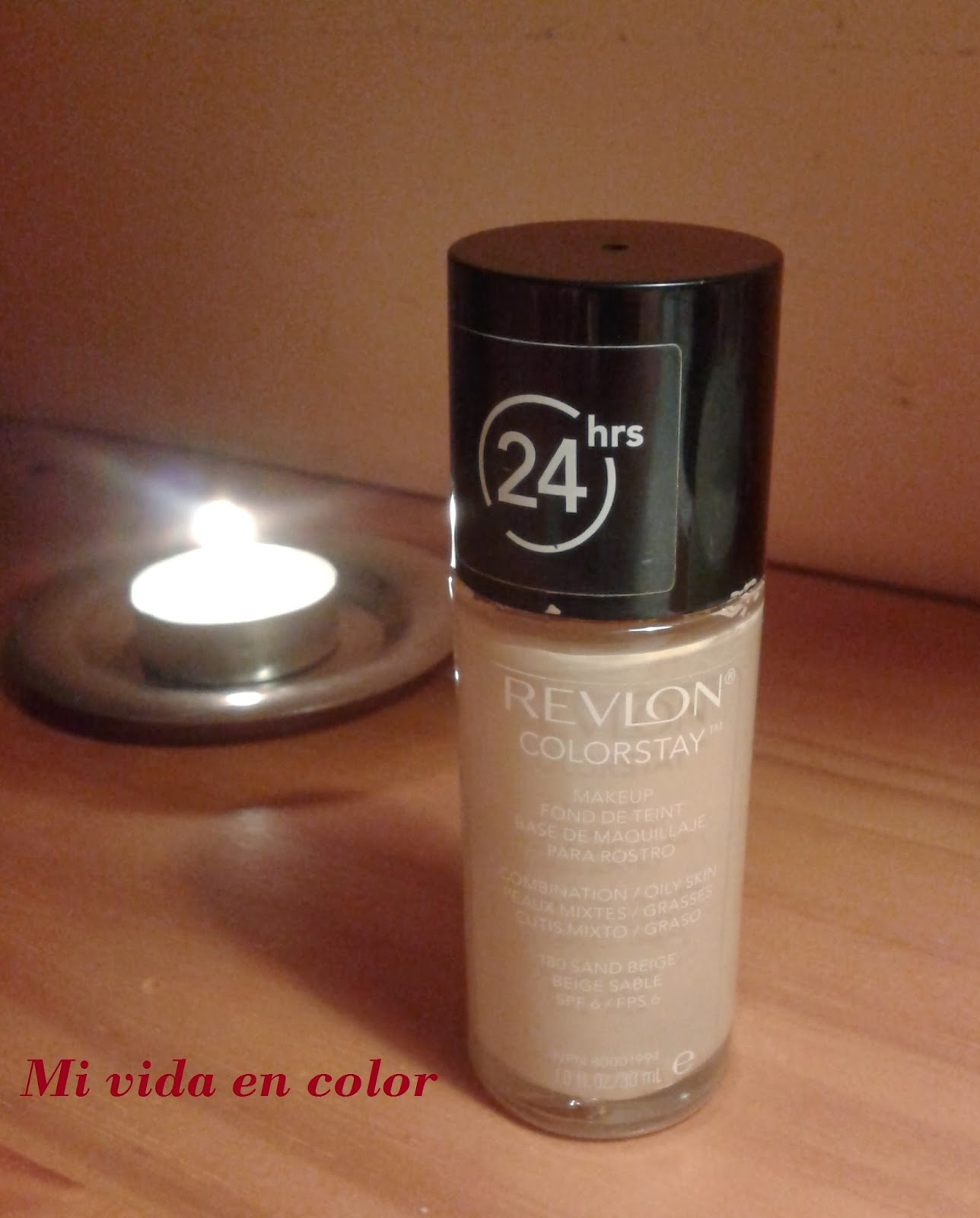 Review reseña Revlon colorstay 180 sand beige