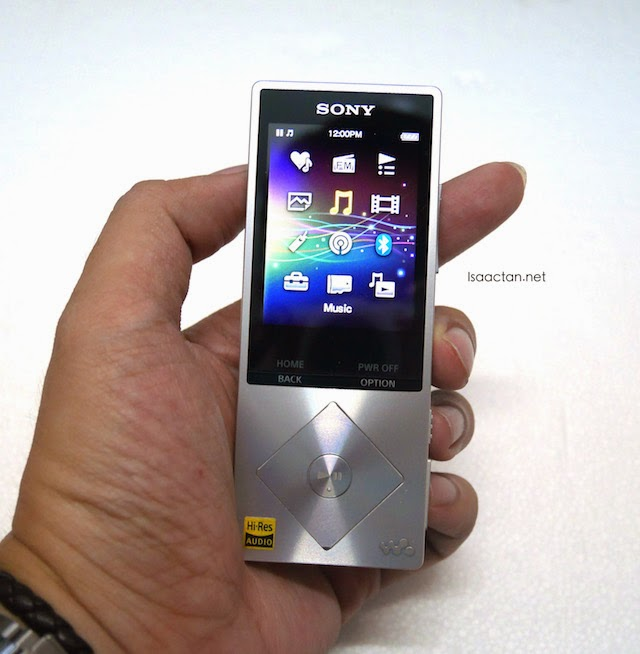 Sony Walkman NWZ-A15 Review