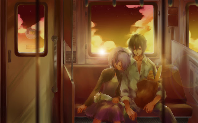 Darker Than Black | Anime | Wallpaper | Train