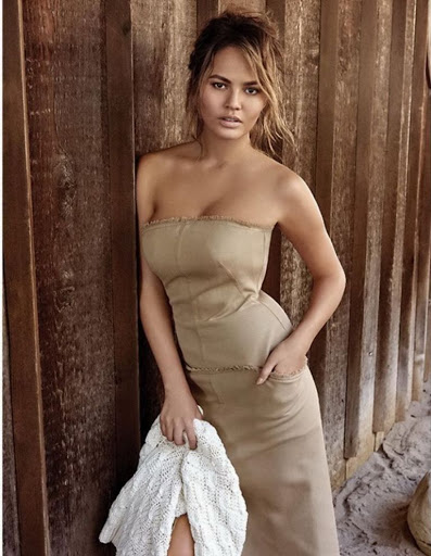 Chrissy Teigen Vogue Thailand Magazine January 2016 photos