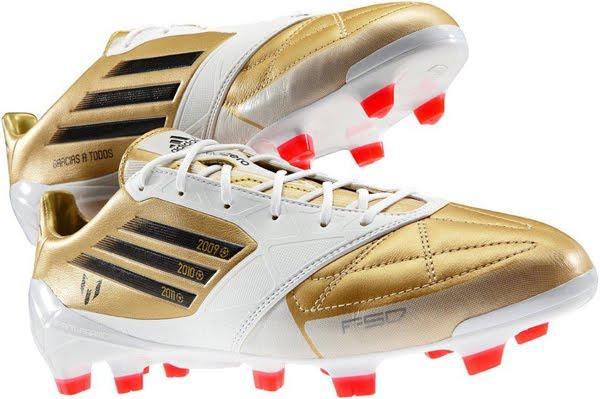 botas Messi balón de Oro 2012