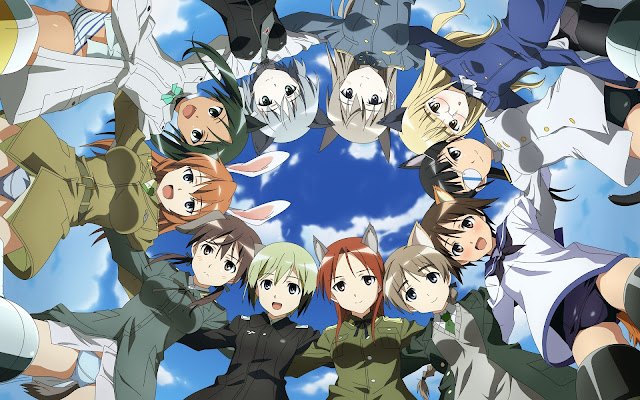 Manga 'Strike Witches: Kurenai no Majo-tachi' Akan Berakhir Pada Oktober