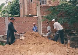 Construção da escola