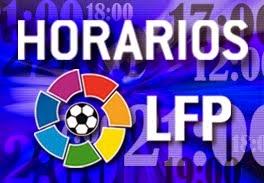 EL RESULTADO NOS DA IGUAL: HORARIOS JORNADA 4 LIGA SANTANDER Y ...