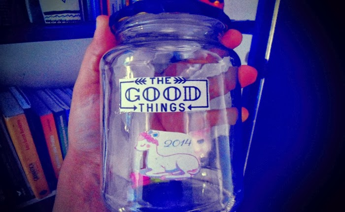 Jar of good things, potinho da felicidade, papeizinhos, dreams