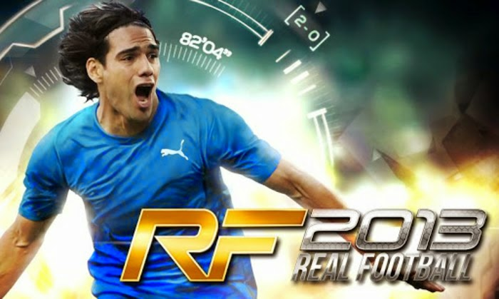 Real Football 2013 1.6.4h MOD APK+DATA [Unlimited Money]