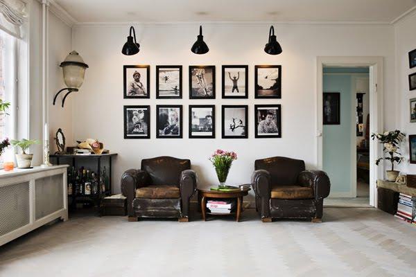 Nadias dr mhem konsten att h nga konst - Cuadros decoracion de interiores ...