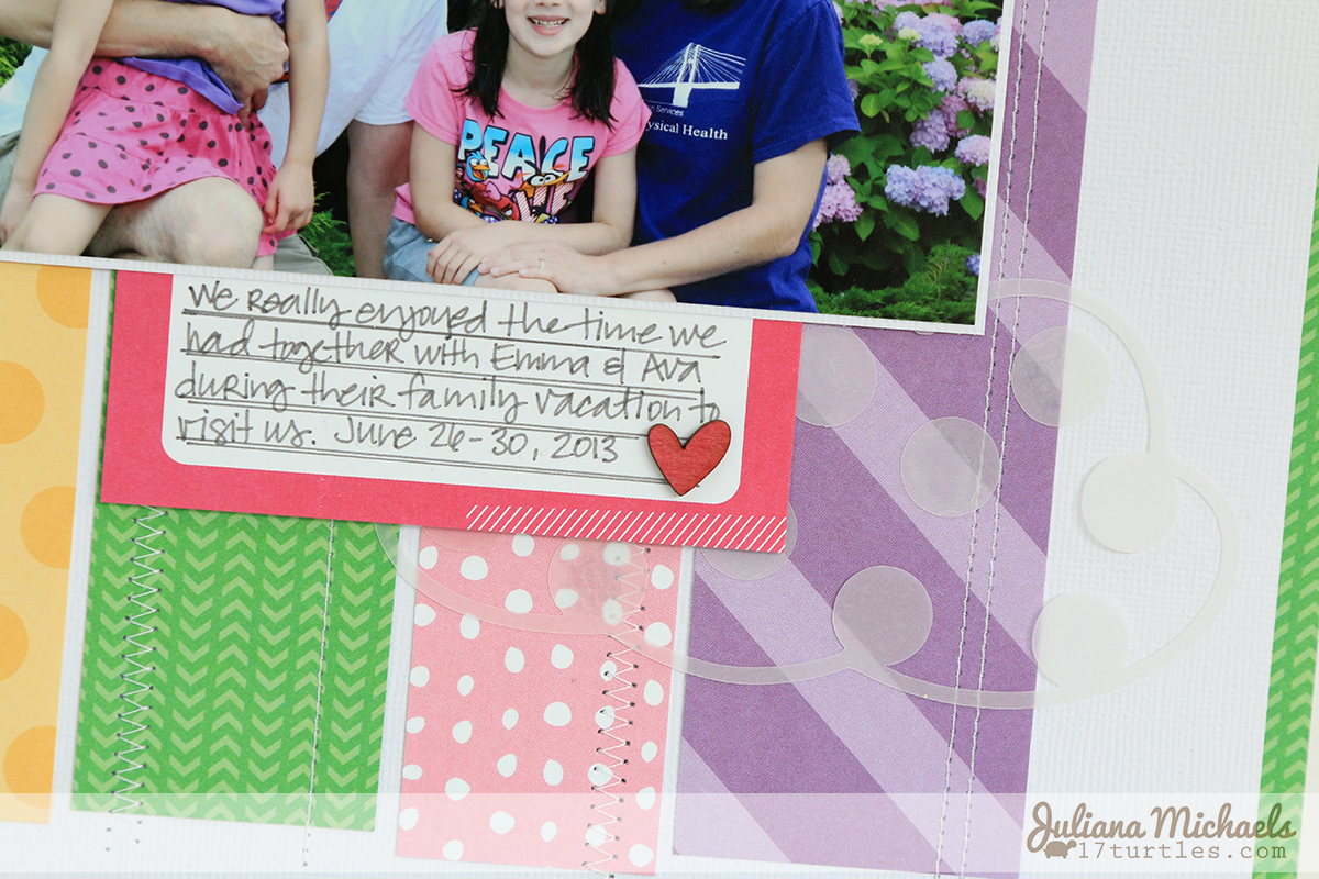 Hello Scrapbook Page by Juliana Michaels for PageMaps September featuring Elle's Studio