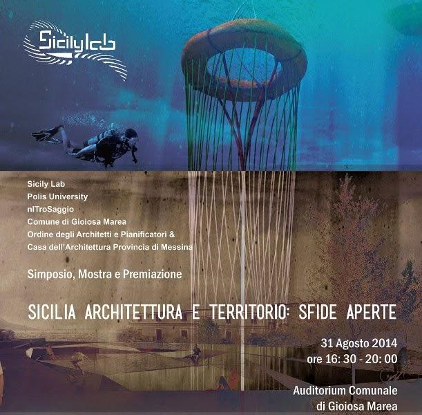 """SIMPOSIO """"SICILIA ARCHITETTURA E TERRITORIO:SFIDE APERTE"""""""